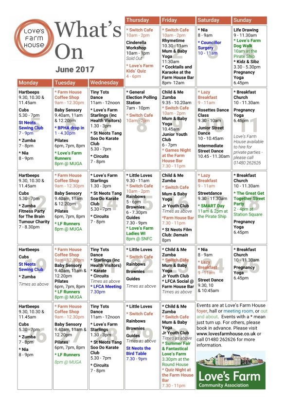 PagePlus What's On - June17 V4