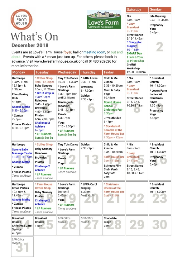 PagePlus What's On - December 2018